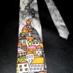Hedvábná kravata, Habotai, 142 x 9.5 cm,